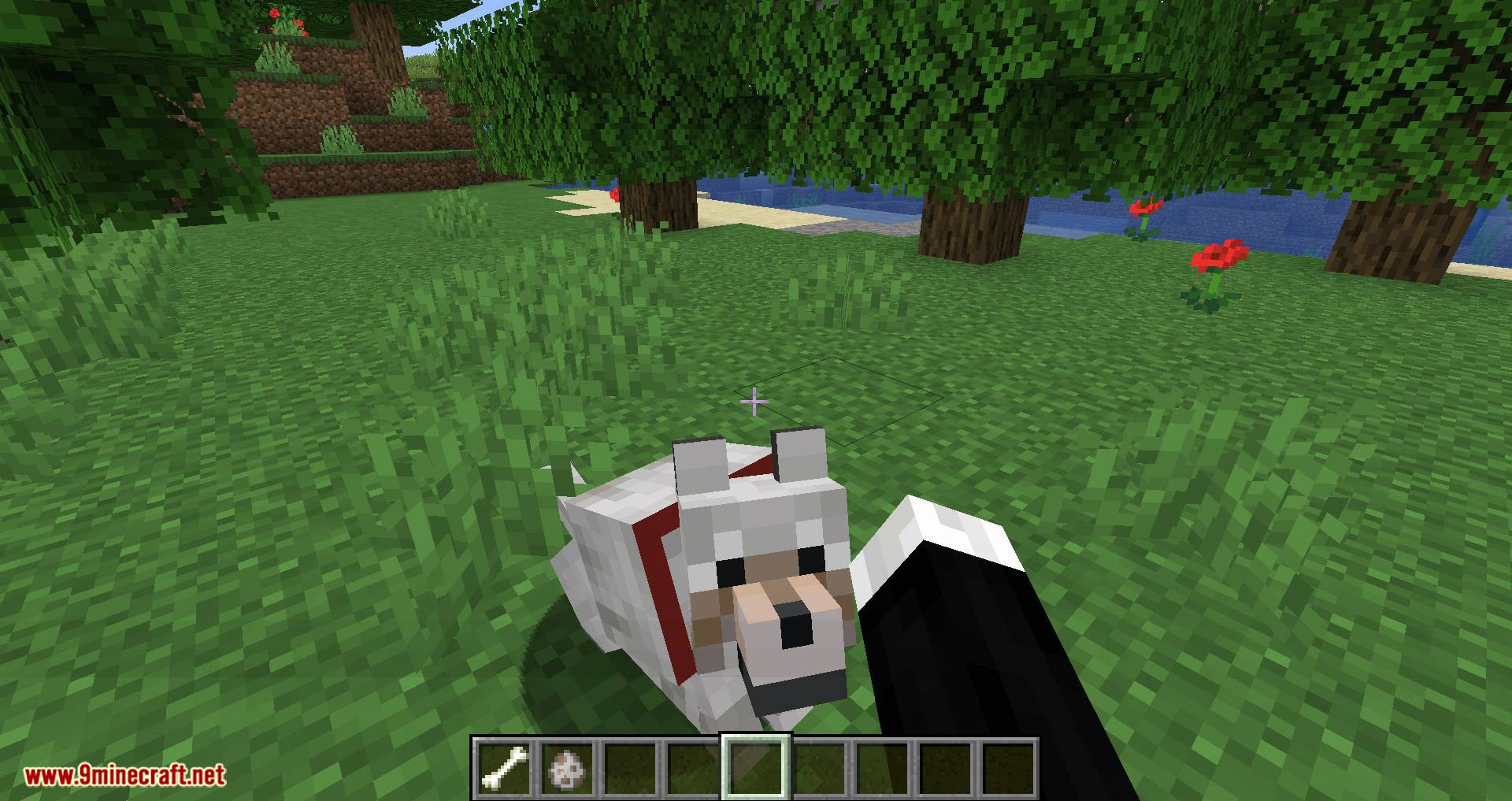 Pet Your Wolf mod for minecraft 04