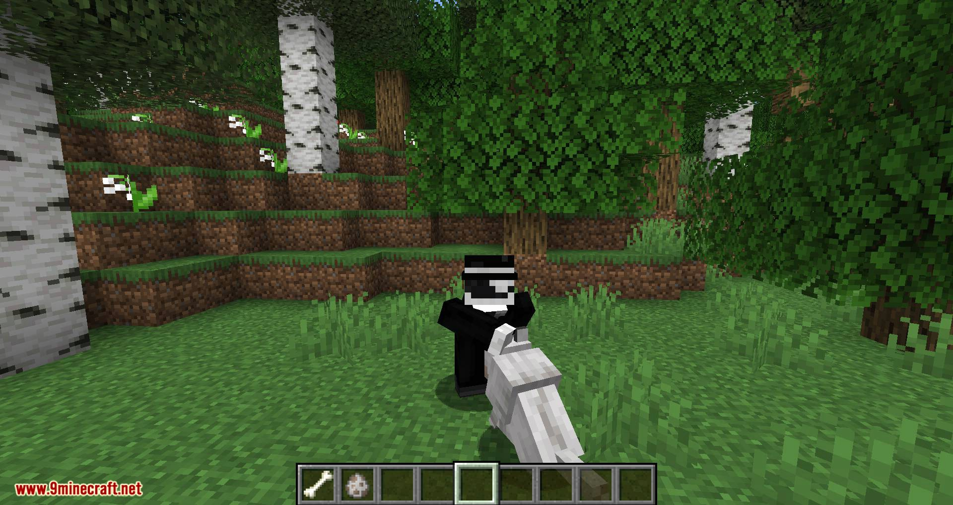 Pet Your Wolf mod for minecraft 05