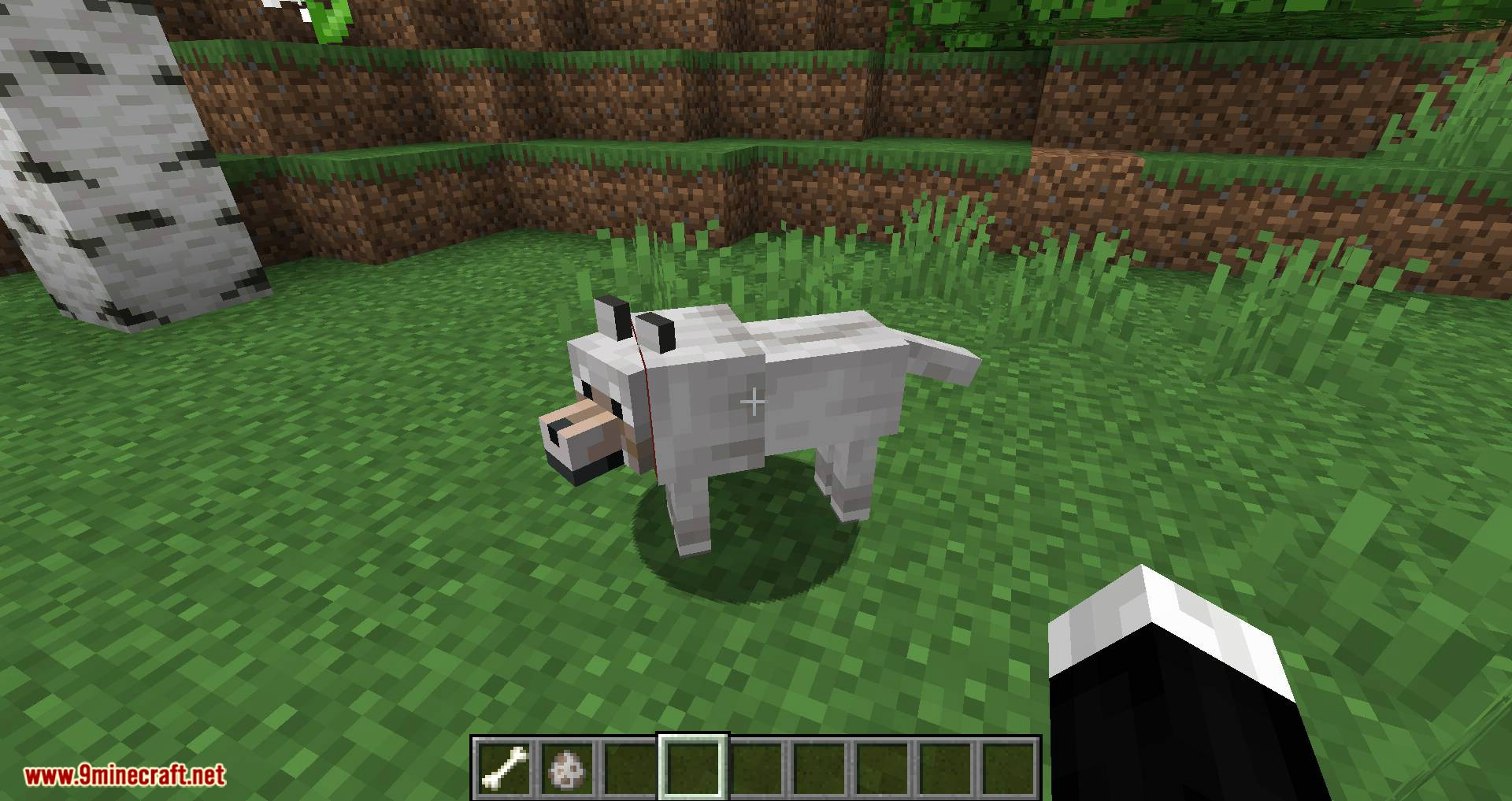 Pet Your Wolf mod for minecraft 06