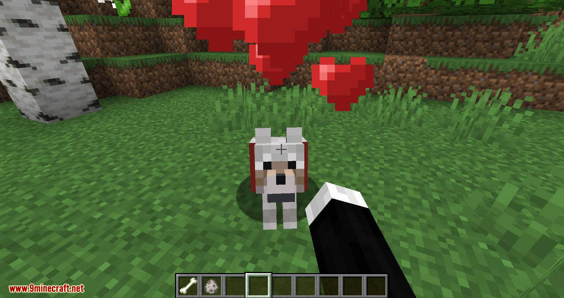 Pet Your Wolf mod for minecraft 08