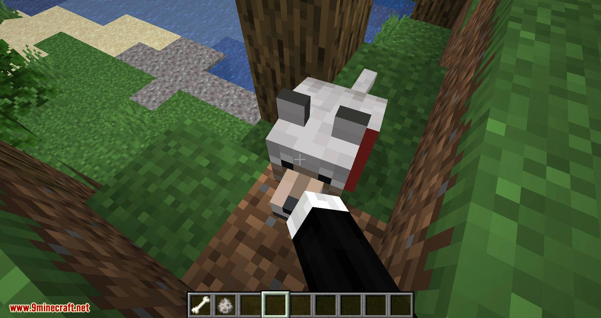 Pet Your Wolf mod for minecraft 10