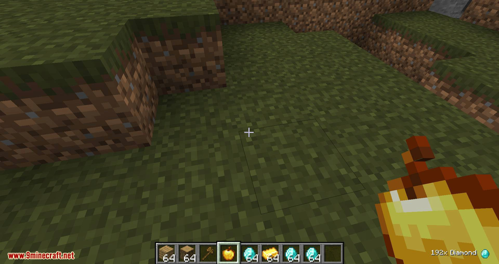 Pick Up Notifier mod for minecraft 06