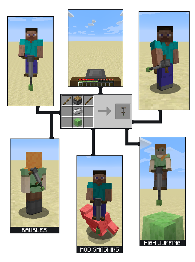 Pogo Sticks mod for minecraft 21
