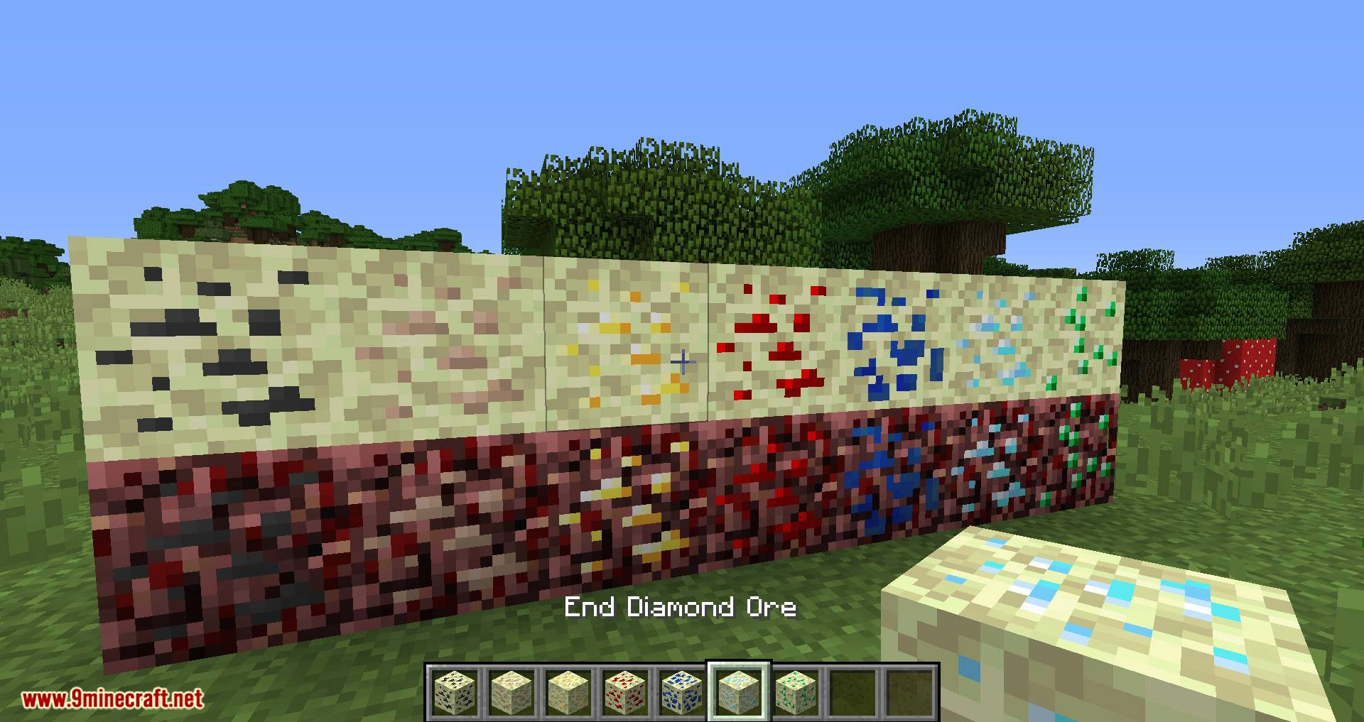 Pomarf_s Dimensional Ores mod for minecraft 02