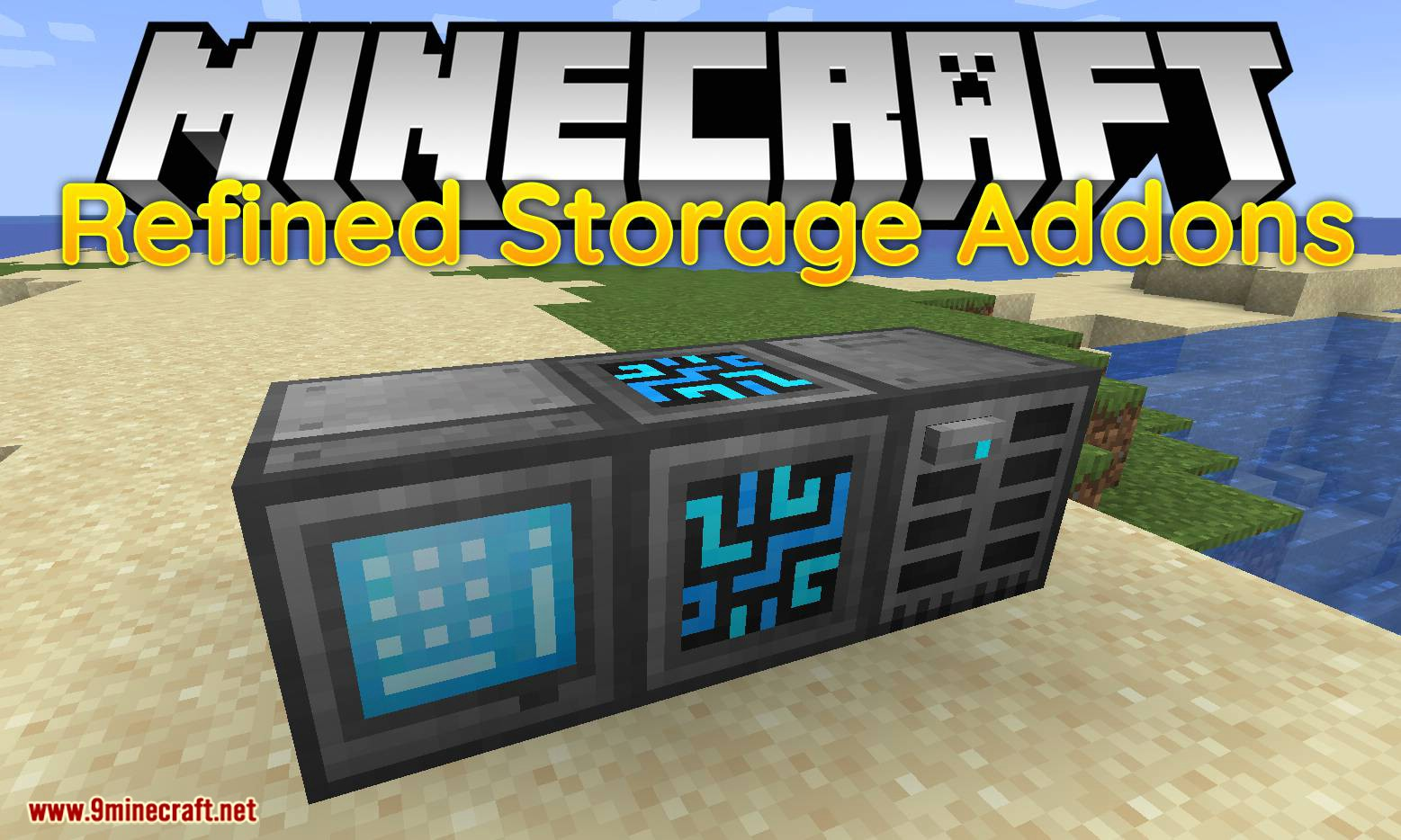 Refined Storage Addons mod for minecraft logo