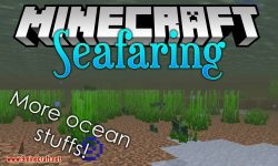 Seafaring mod for minecraft logo