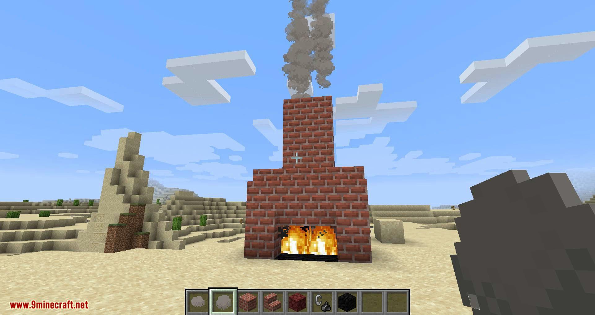 Smoke mod for minecraft 04
