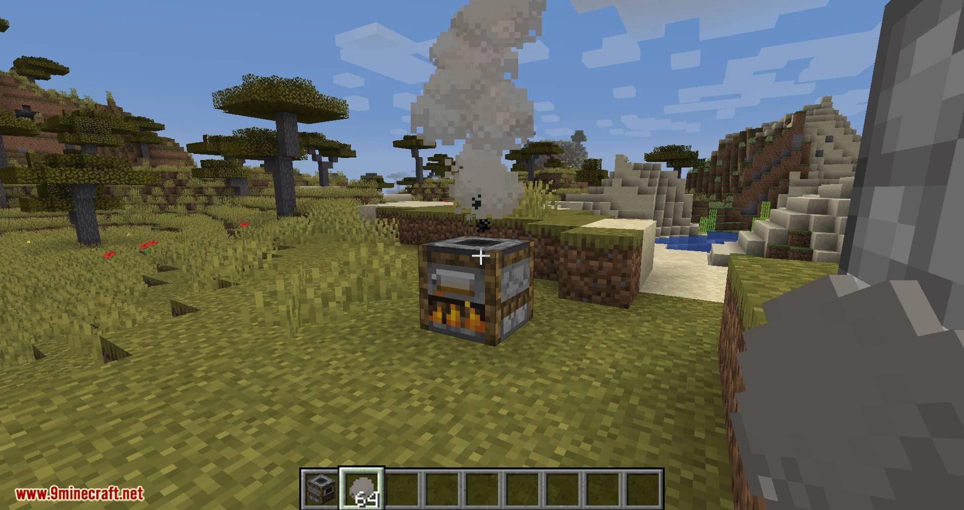 Smoke mod for minecraft 10
