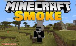 Smoke mod for minecraft logo