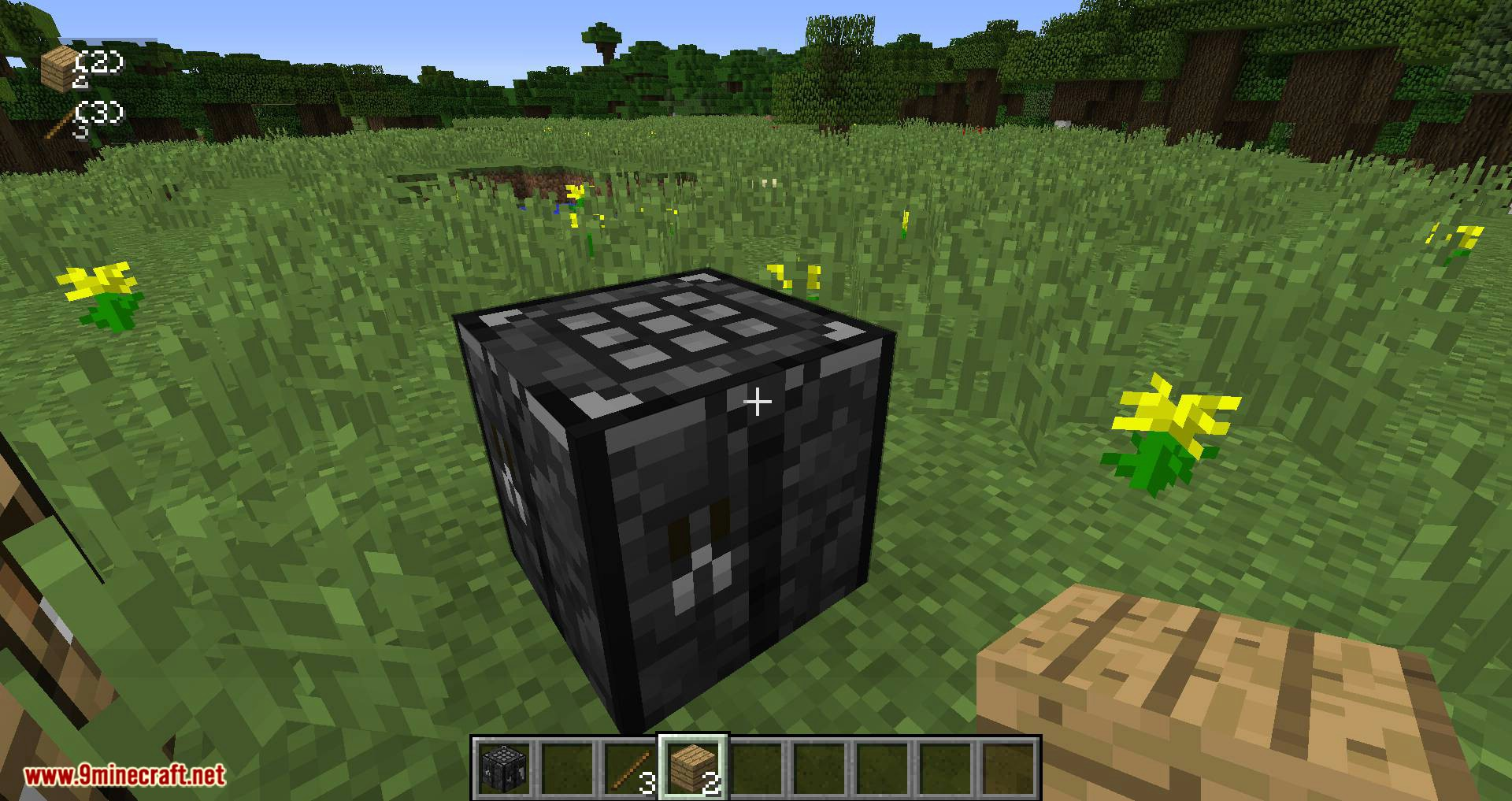 Stone Crafting Table mod for minecraft 10