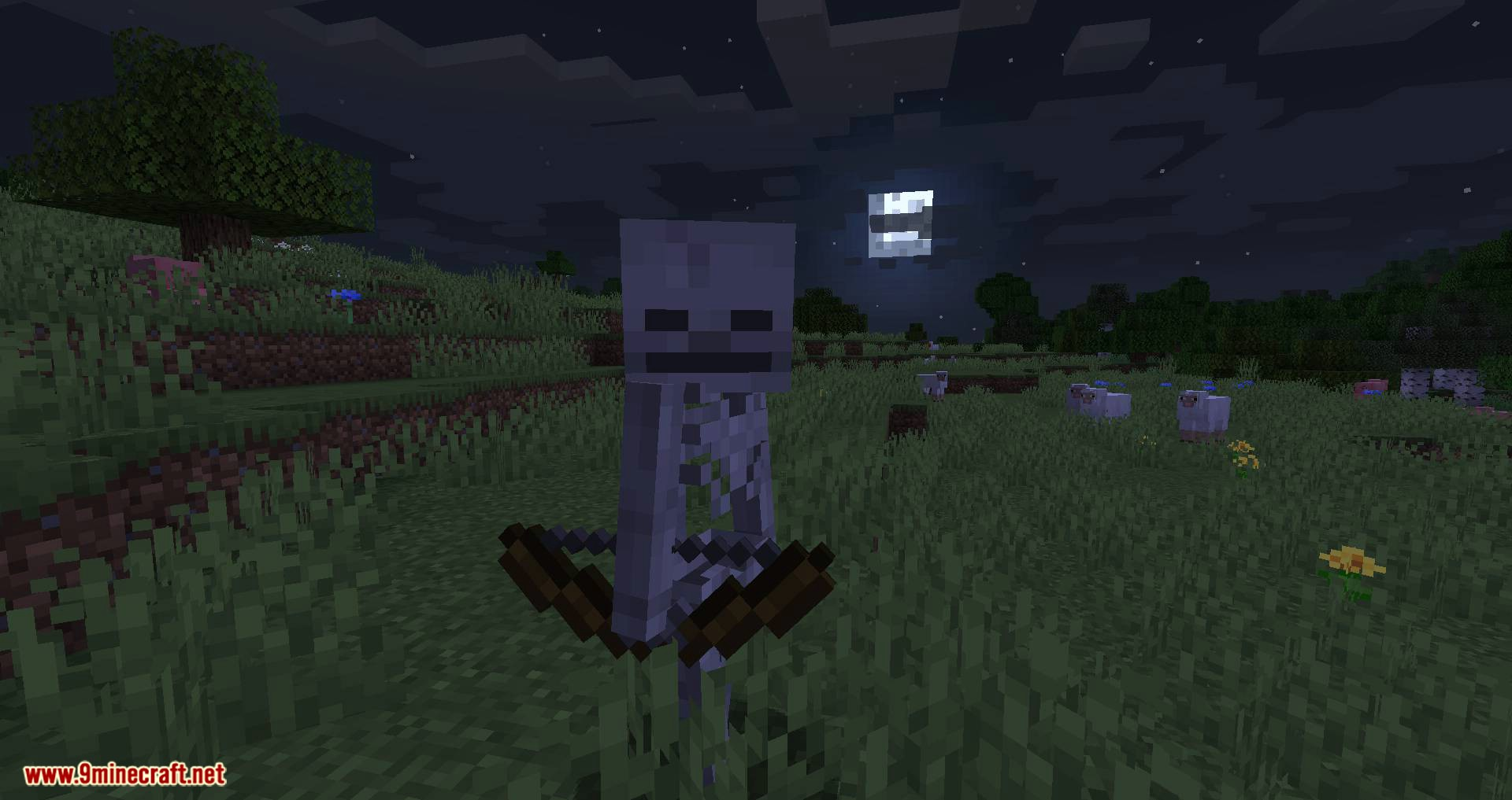 Stray Spawn mod for minecraft 01