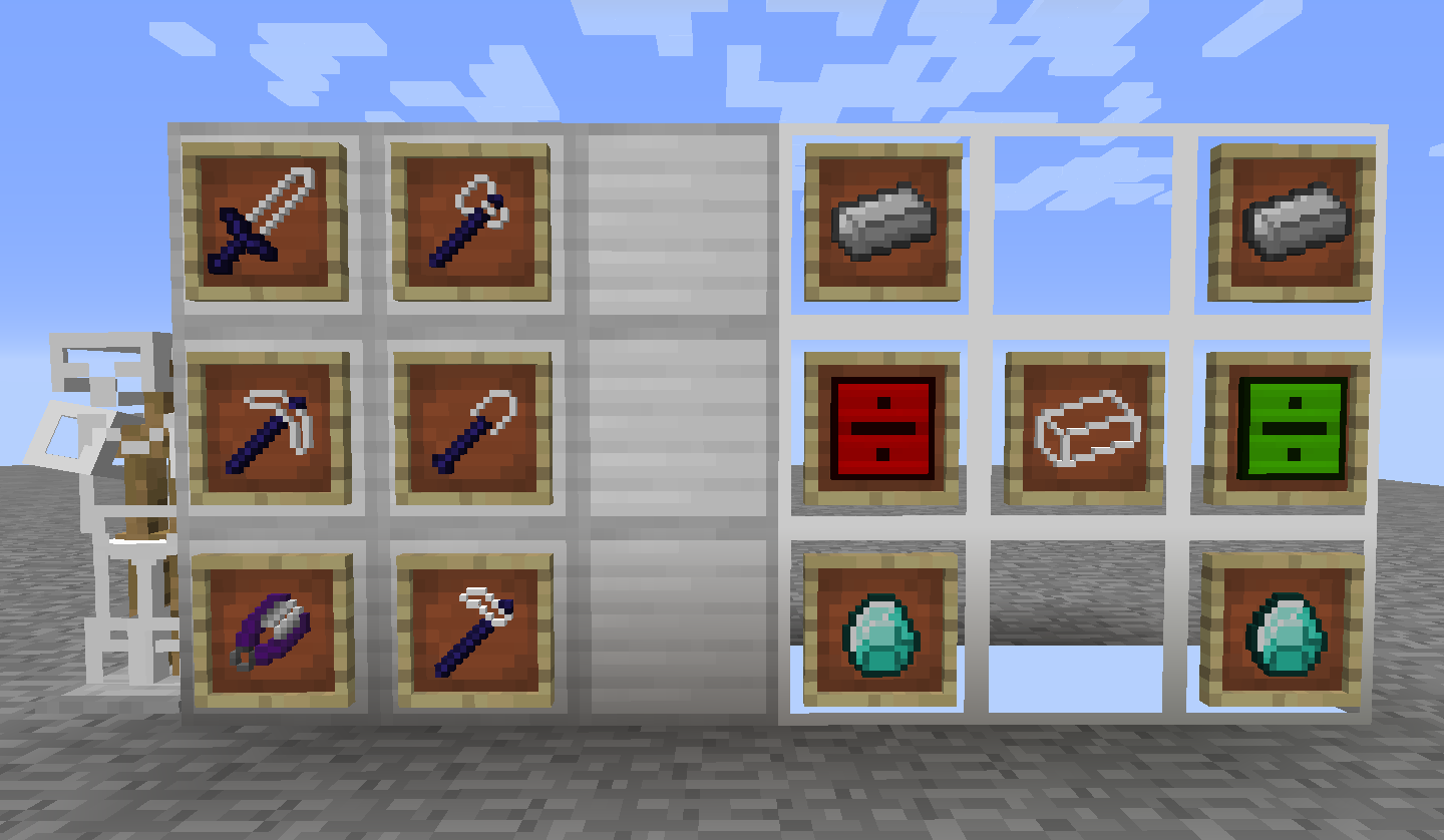 Unstable Tools mod for minecraft 21