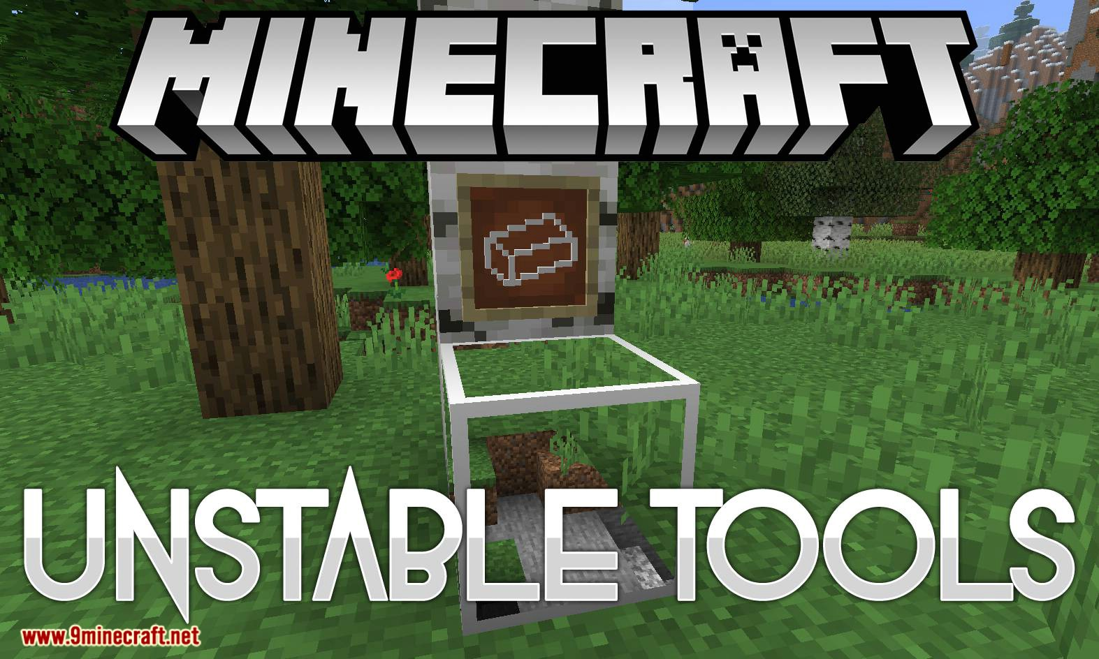 Unstable Tools mod for minecraft logo