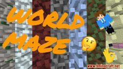 World Maze Map Thumbnail