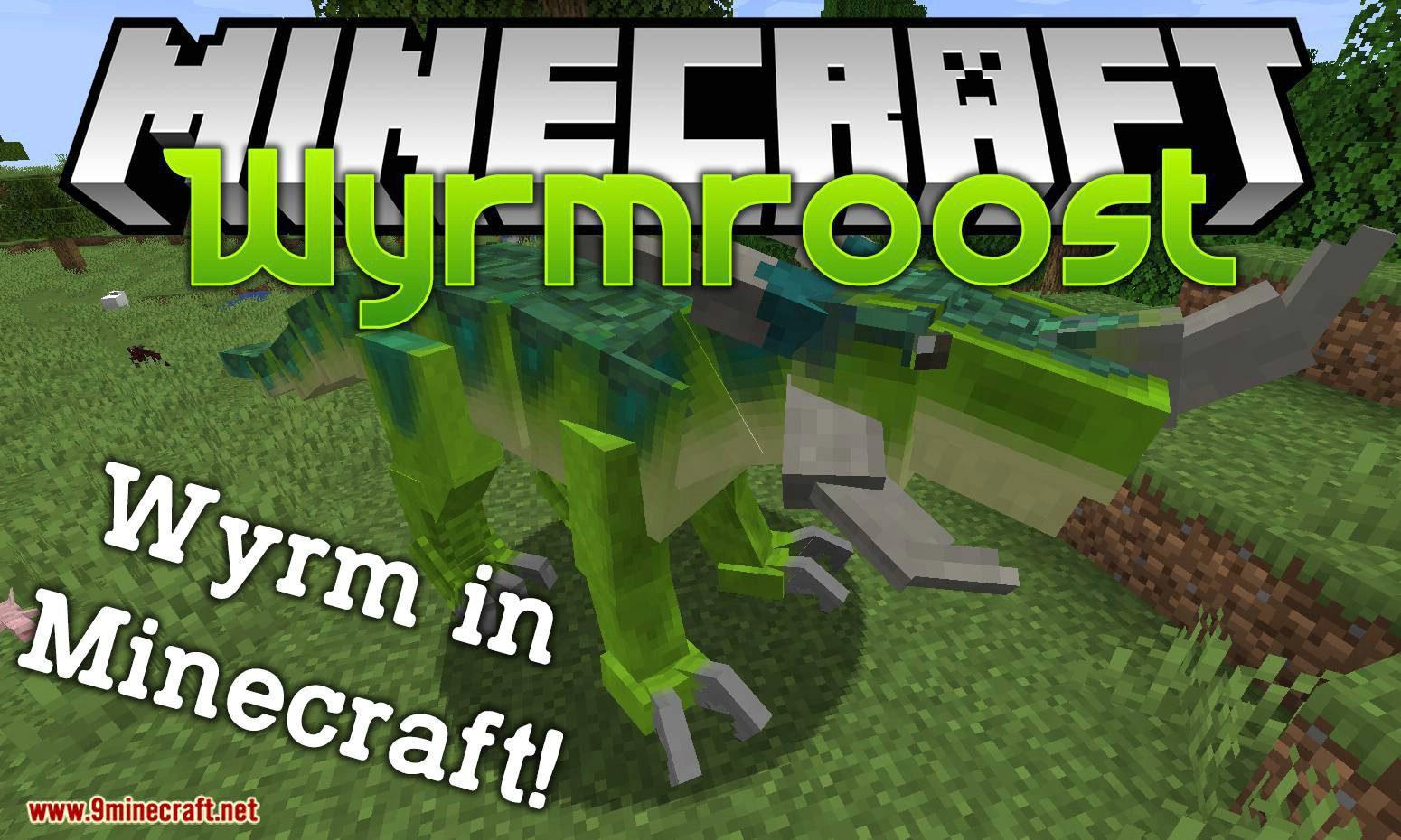 Wyrmroost mod for minecraft logo