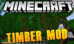 pizzaatime_s Timber Mod for minecraft logo