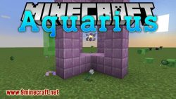 Aquarius mod for minecraft logo