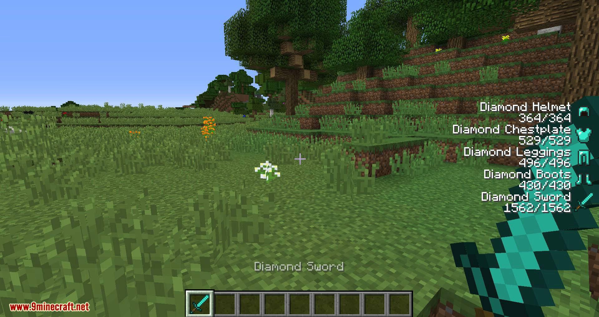 ArmorStatusHUD Updated mod for minecraft 02