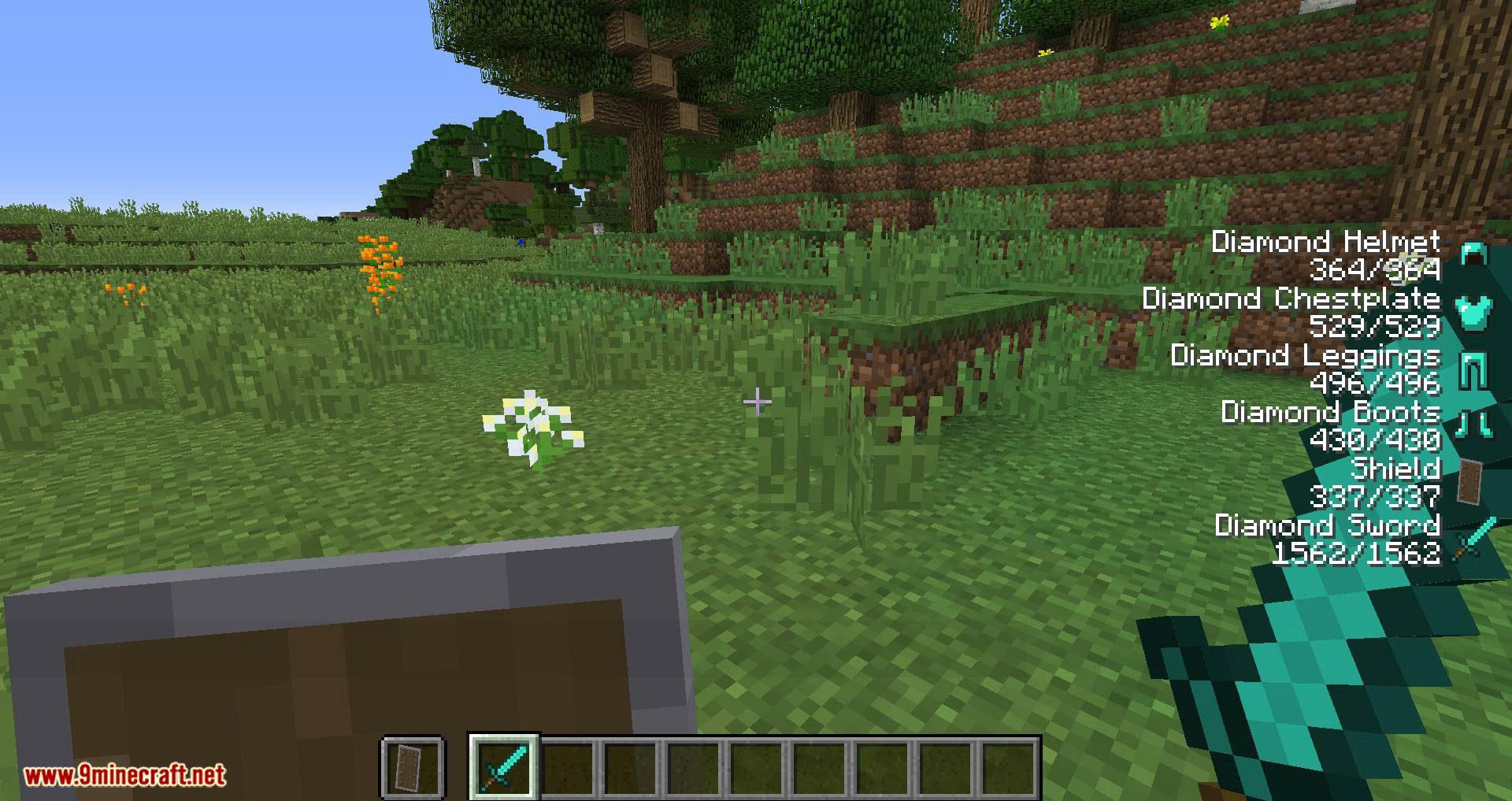 ArmorStatusHUD Updated mod for minecraft 03