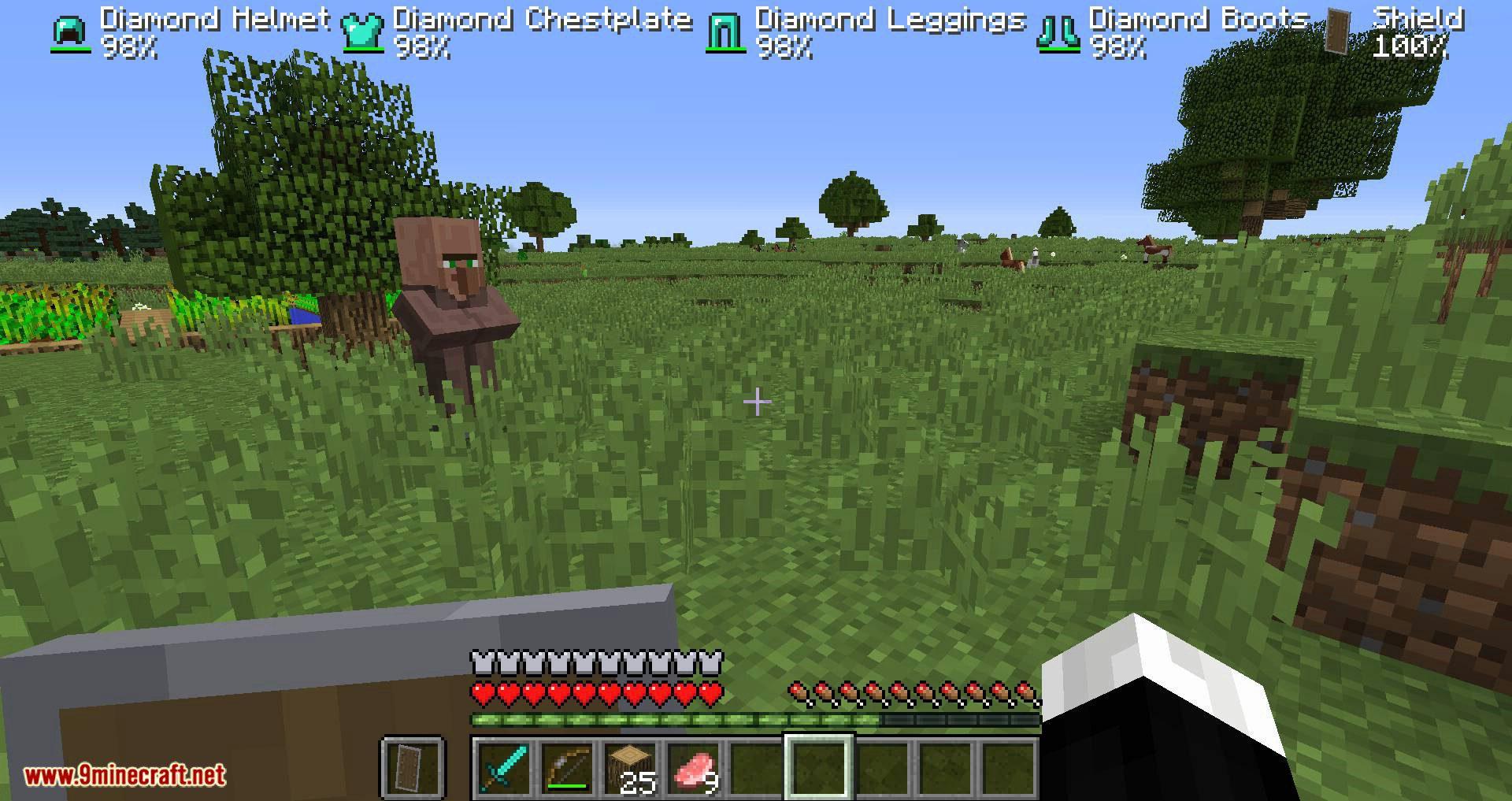 ArmorStatusHUD Updated mod for minecraft 08