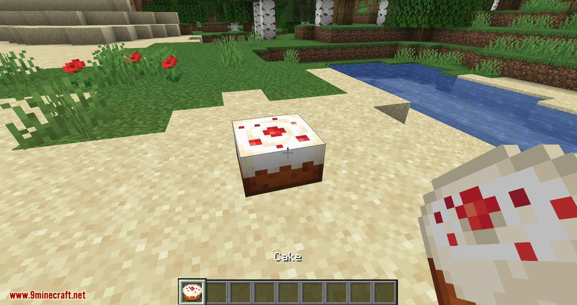 Cake Chomps mod for minecraft 01