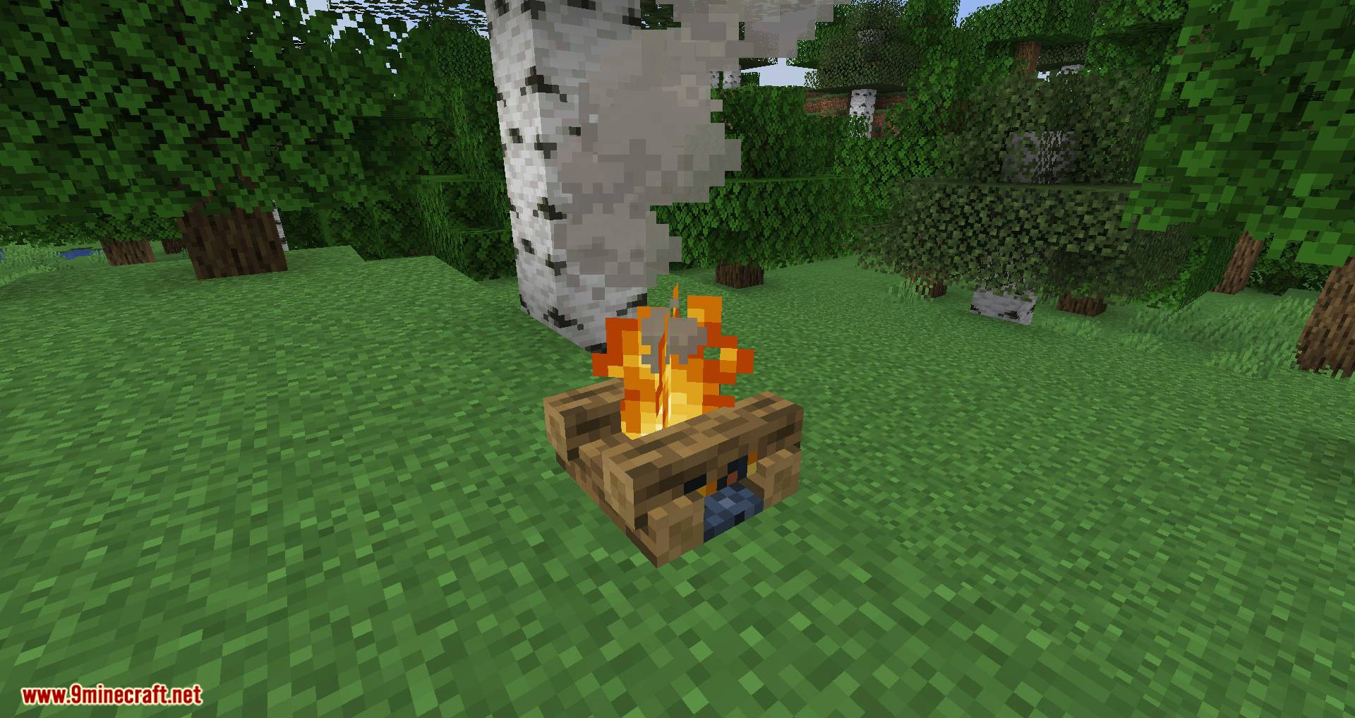 Campfire Torches mod for minecraft 01