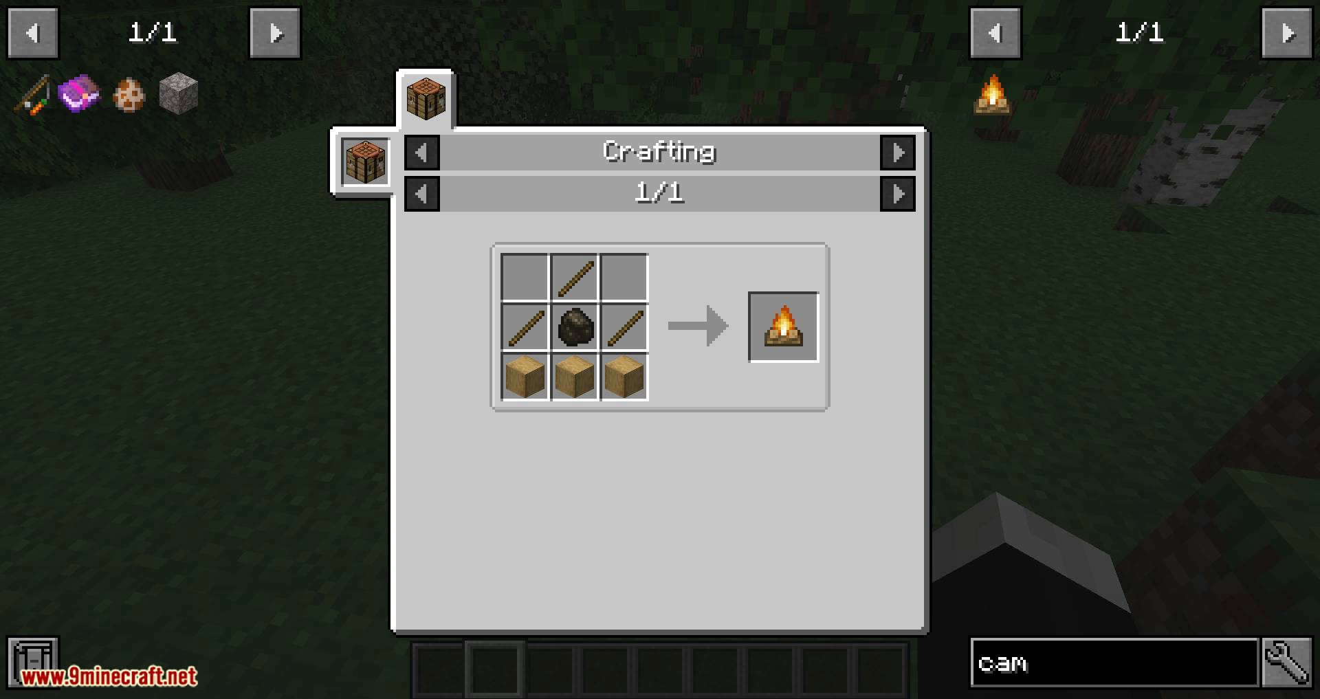 Campfire Torches mod for minecraft 03