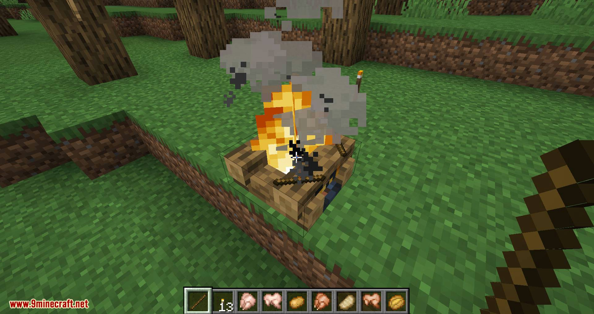 Campfire Torches mod for minecraft 08