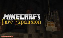 Cave Expansion Mod for minecraft logo
