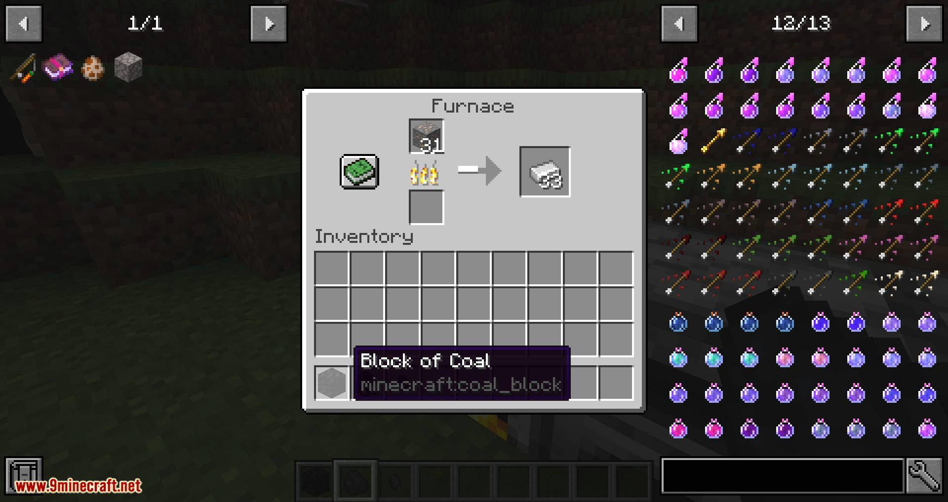 Coal Chunks mod for minecraft 08