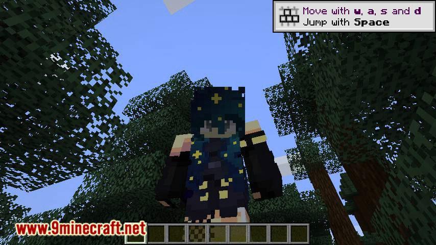 Custom Skin Loader mod for minecraft 07
