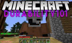 Durability101 mod for minecraft logo