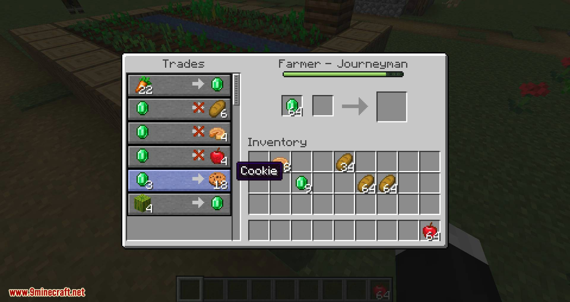 Easier Villager Trading Mod 8.86.8/8.85.8 (One-Click-Trades