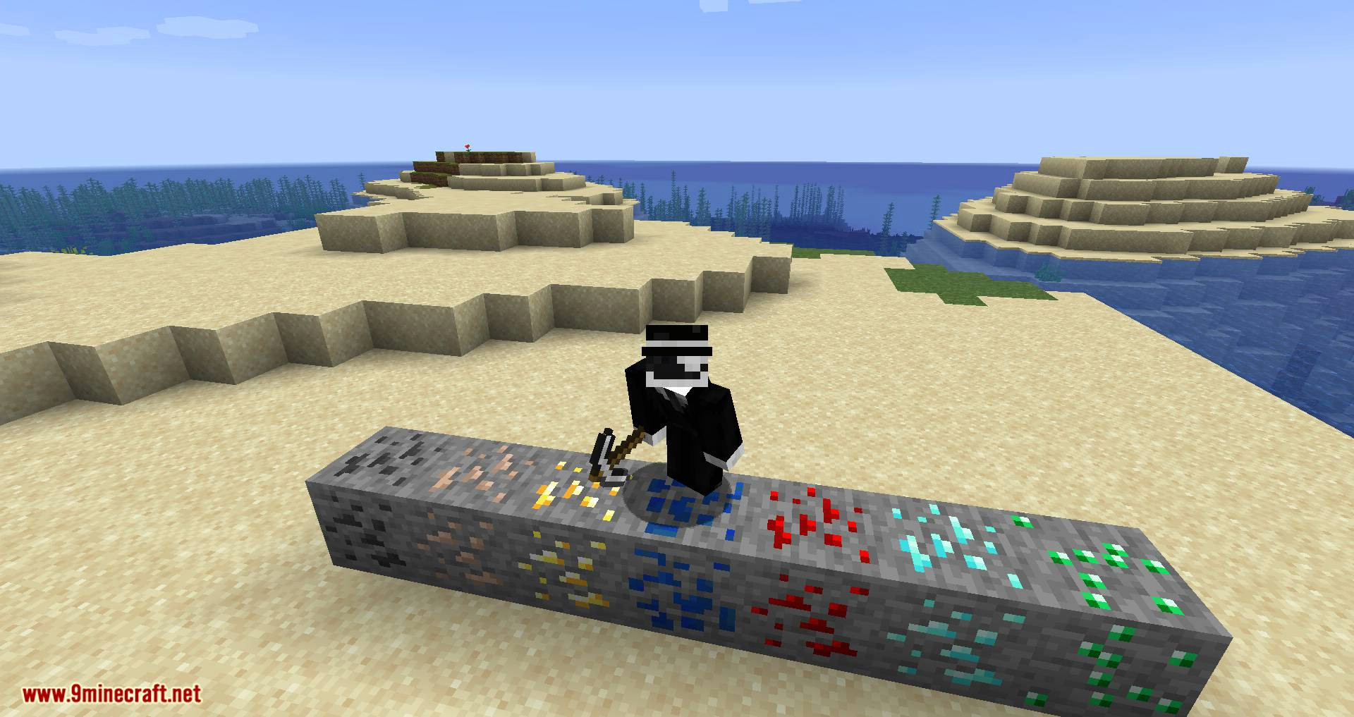 Elementary Ores mod for minecraft 02