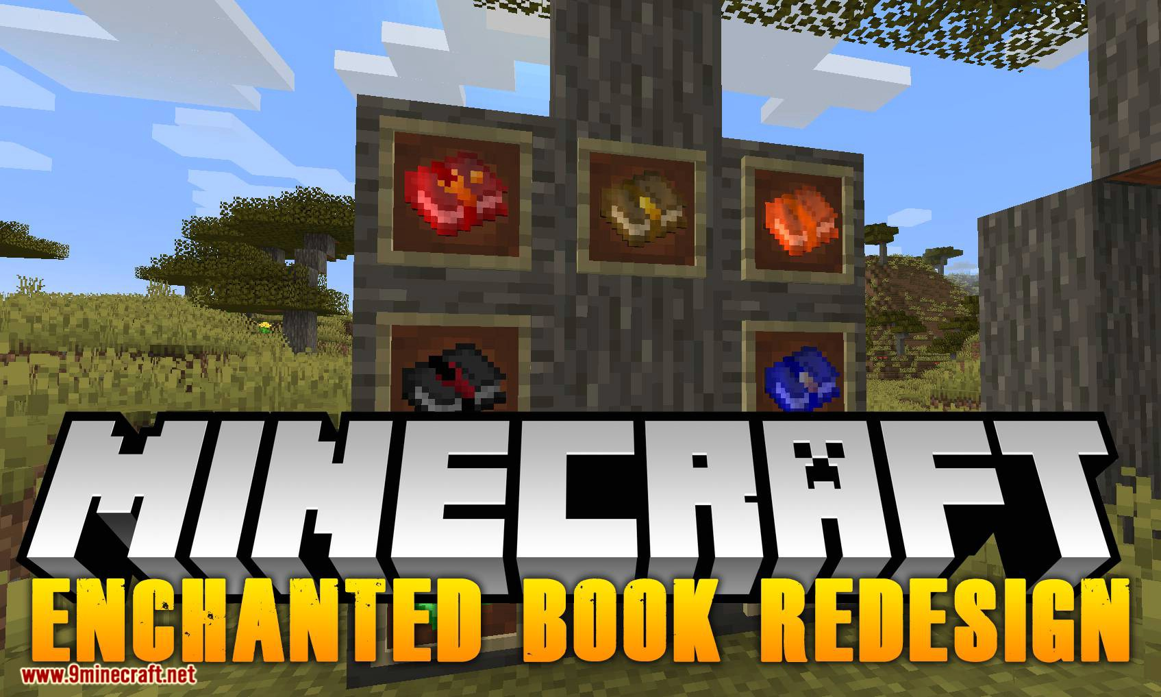Enchanted Book Redesign mod for minecraft logo