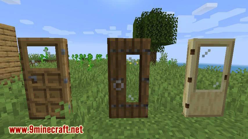 Extra Doors mod for minecraft 02