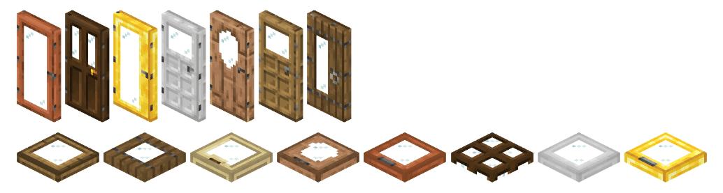 Extra Doors mod for minecraft 25