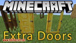 Extra Doors mod for minecraft logo