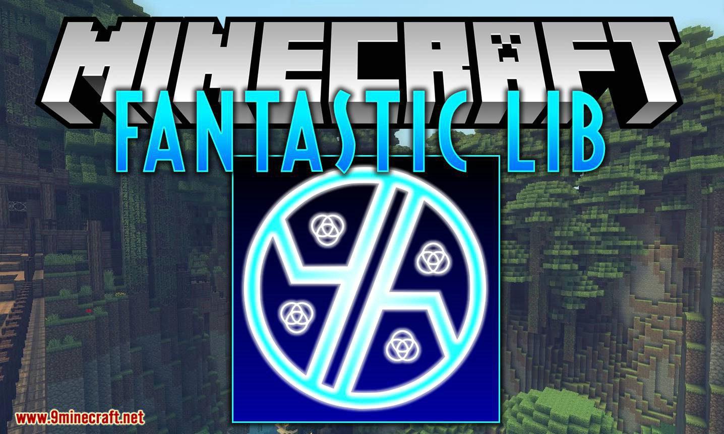 Fantastic Lib mod for minecraft logo
