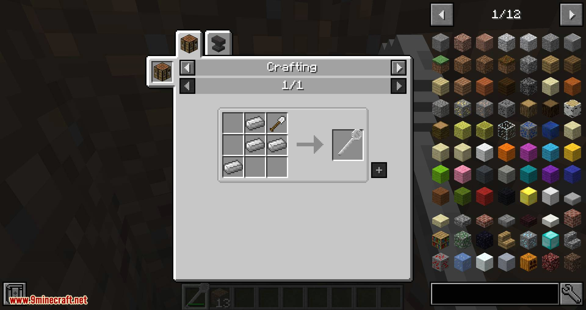 Giant Cutlery mod for minecraft 03