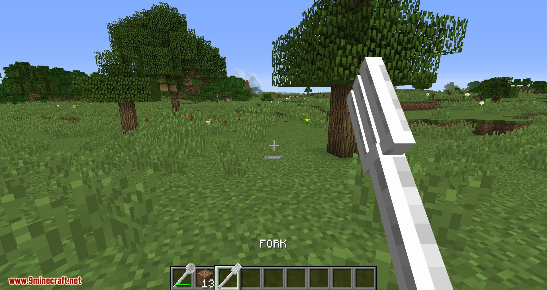 Giant Cutlery mod for minecraft 05