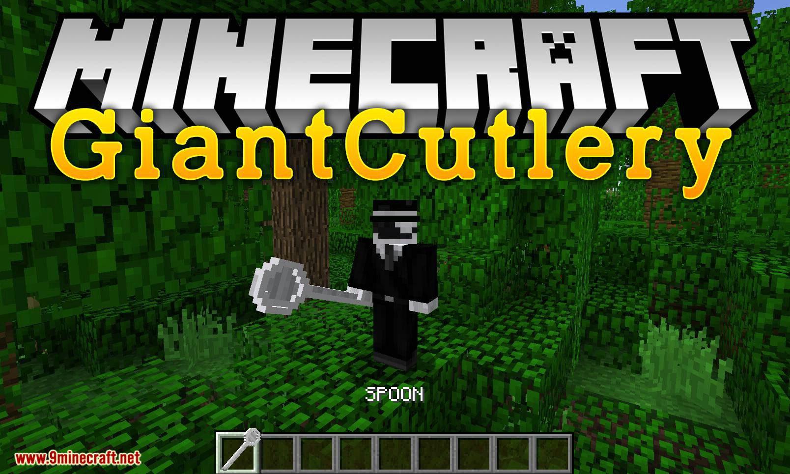 Giant Cutlery mod for minecraft logo