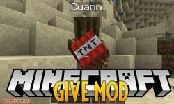 Give Mod for minecraft logo