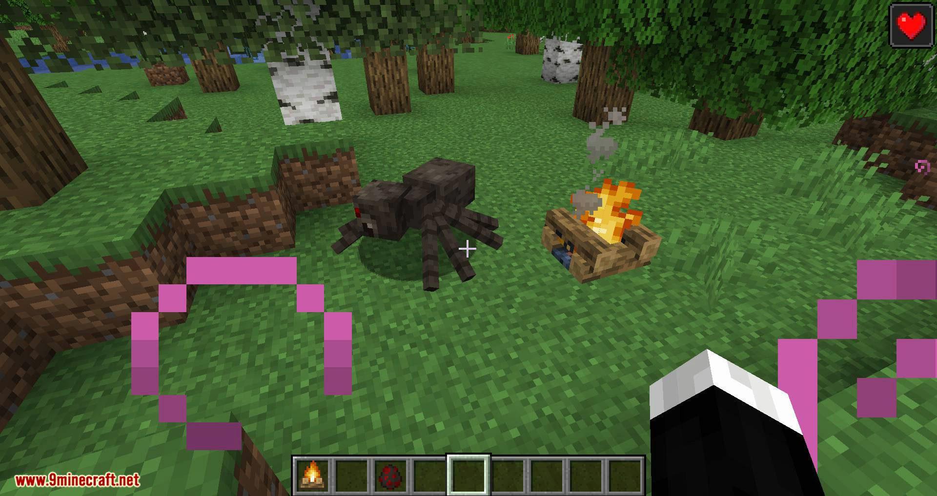 Healing Campfire mod for minecraft 07