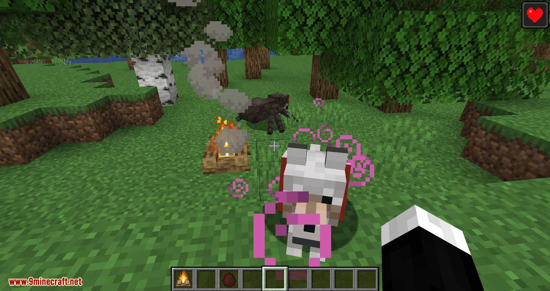 Healing Campfire mod for minecraft 08