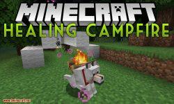Healing Campfire mod for minecraft logo