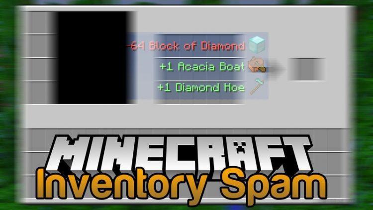 Inventory Spam Mod