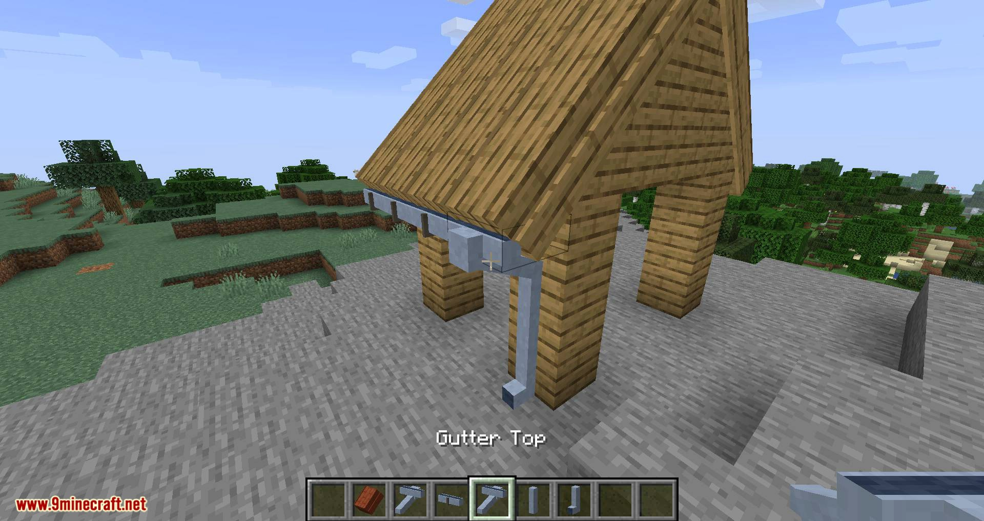 Macaw_s Roofs mod for minecraft 12