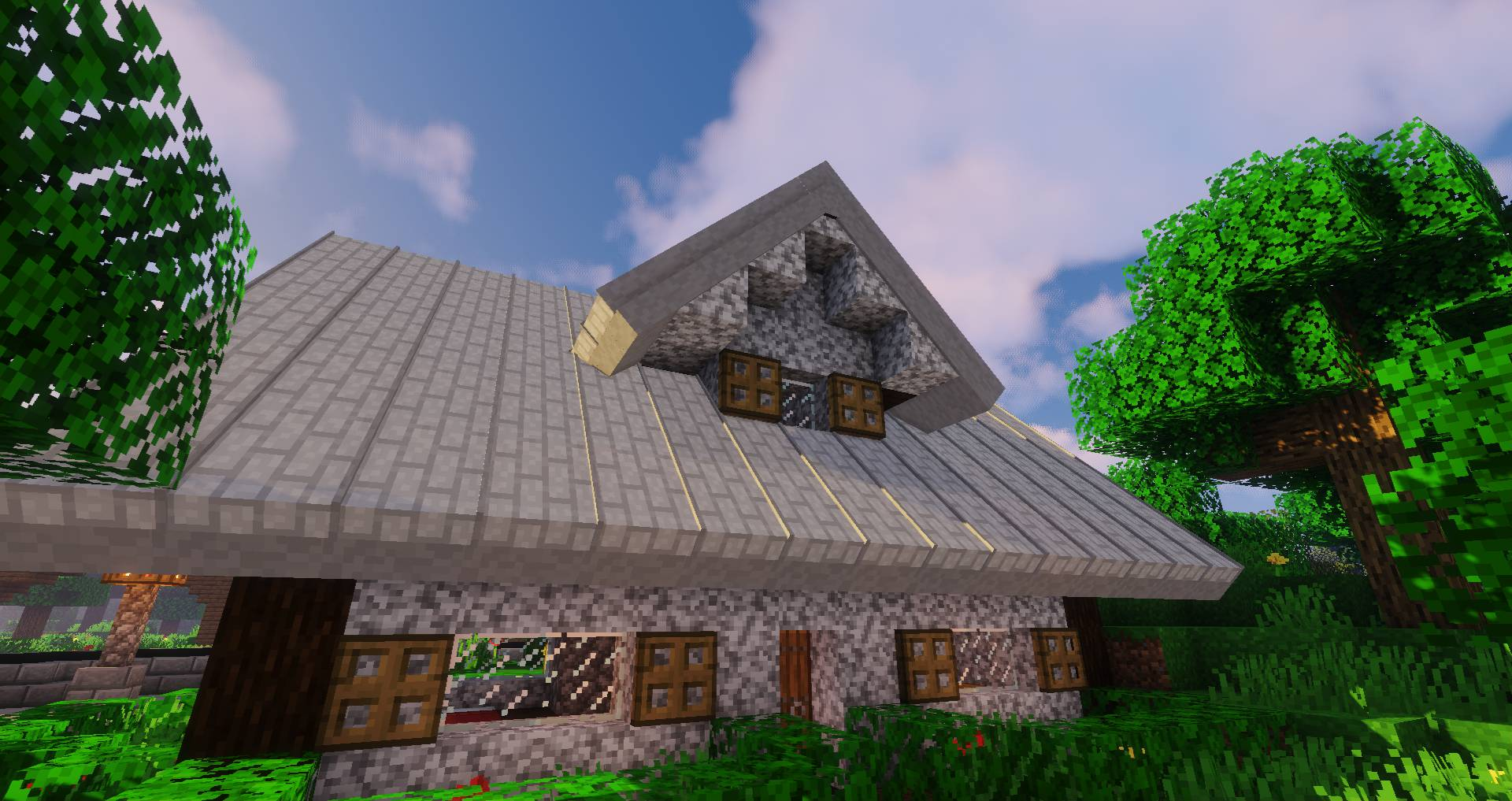 Macaw_s Roofs mod for minecraft 22