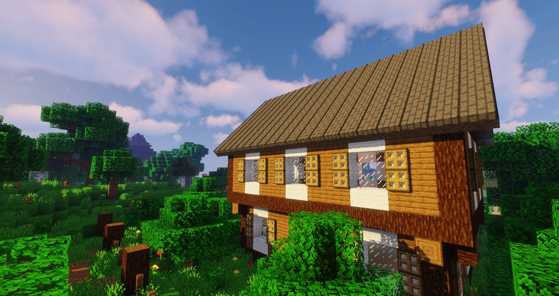 Macaw_s Roofs mod for minecraft 23